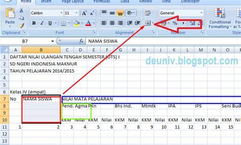 cara membuat neraca saldo di microsoft excel cara membuat daftar nilai pada excel 2007 deuniv