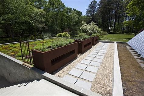 living arc green roofs house of the week arc house in the htons zillow