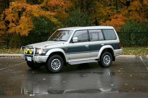mitsubishi pajero 1992 1992 mitsubishi pajero for sale rightdrive est 2007