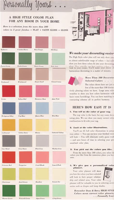 antique paint colors vintage goodness 1 0 vintage decorating 1950 s paint