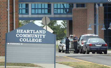 online training heartland community college phoned in bomb threat closes hcc local education