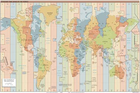world clock map my