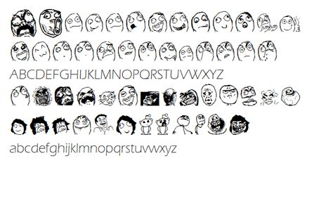 What Font Is Used In Memes - memes font by sweetsmiilegirl on deviantart