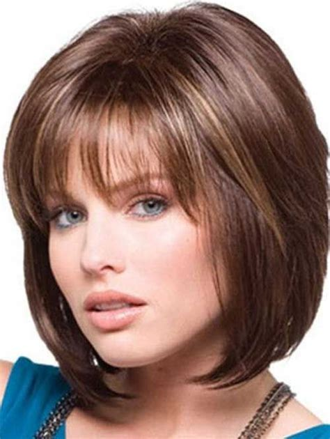 different types of hair bangs short bob hairstyles for women with different type of hair