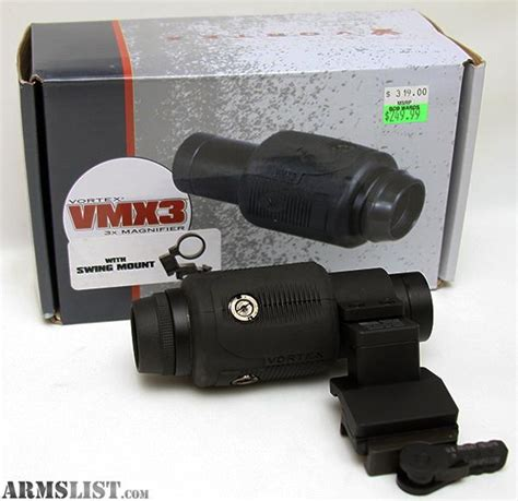 vortex swing mount armslist for sale vortex vmx3 3x magnifier w swing out