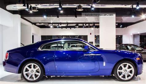 2014 rolls royce rolls royce wraith starlight roof car