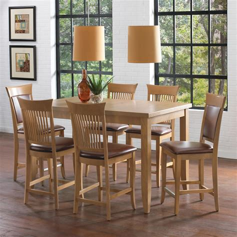 dining room set high tables canadel custom dining high dining customizable counter