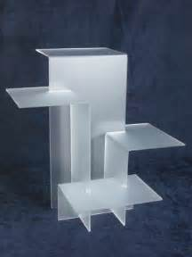 acrylic riser display acrylic 4 shelf riser display in