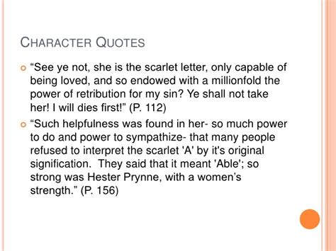 Scarlet Letter Introduction Quotes The Scarlet Letter Hester Prynne Quotes Image Mag