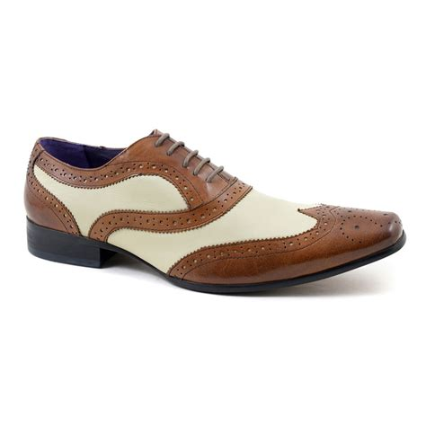 beige oxford shoes buy brown beige oxford two tone brogues gucinari