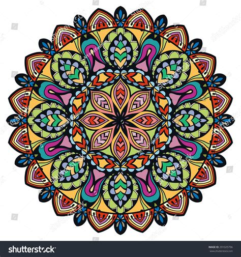 tribal pattern mandala mandala tribal ethnic ornament vector islamic stock vector
