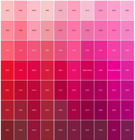 matching colours with pink logo pantone color matching red and pink paintings and paper art pinterest pantone color