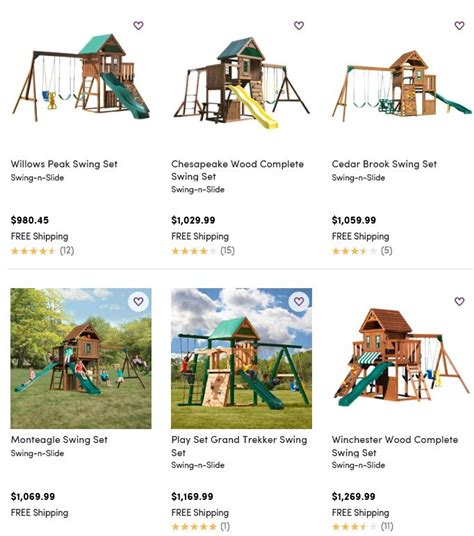 where to buy a swing set swing n slide playset reviews with 4 different ways to
