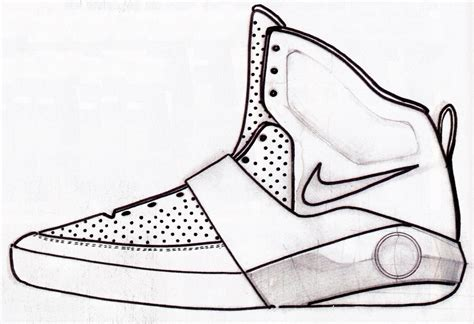 basketball shoes drawing sneaker sketch of the week smith s nike air yeezy
