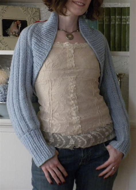 easy bolero knitting pattern easy shrug knitting patterns in the loop knitting