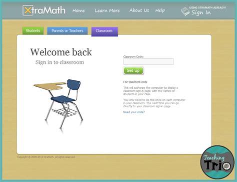 Teaching Trio Xtramath.org Sign In