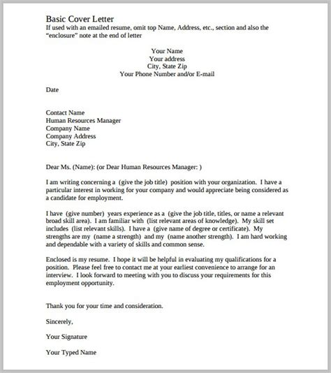 printable free cover letters cover letters free download cover letter resume