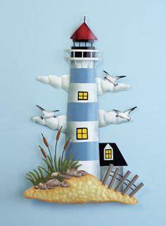 lighthouse nautical beach home decor metal lighthouse new 4 sakura by the sea salad dessert plates lighthouses david