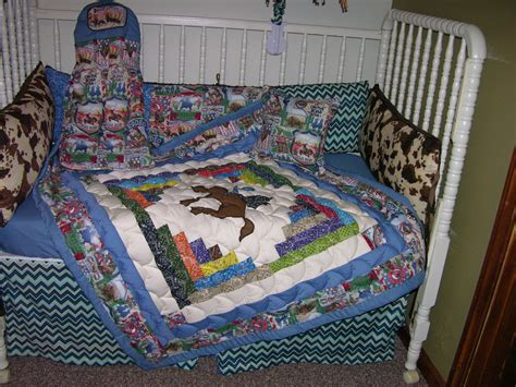 Western Cowboy Rodeo Crib Bedding Set Crib Mobile Western Crib Bedding