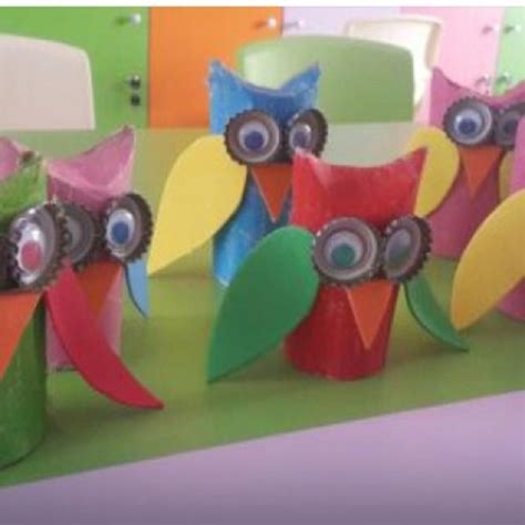 Toilet Paper Owl Craft - crafts actvities and worksheets for preschool toddler and