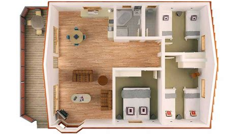 small bungalow floor plans small bungalow house floor plans with large balcony
