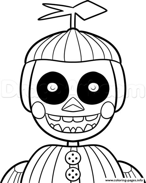 fnaf coloring pages balloon boy fnaf balloon boy coloring page alltoys for