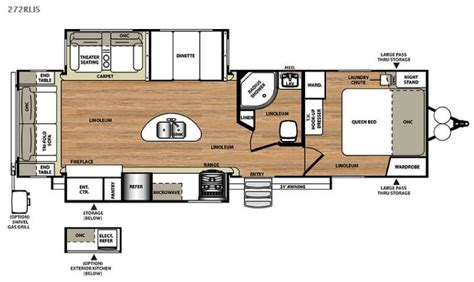 park model travel trailer floor plans new 2015 forest river rv salem hemisphere lite 272rlis