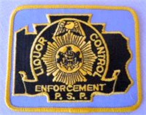 Liquor Enforcement Officer by Ben S Patch Collection