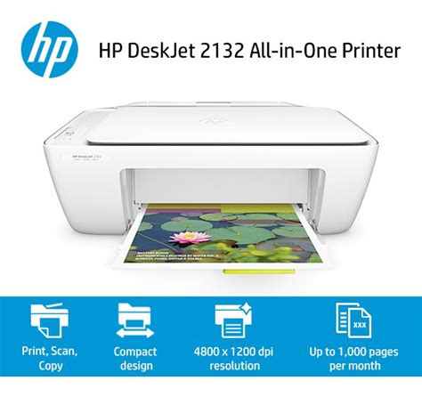 Printer Hp Deskjet 2132 hp deskjet 2132 aio printer buy hp deskjet 2132 aio printer at low price in india