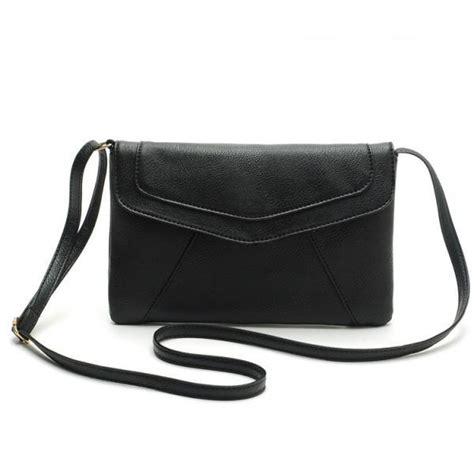 Tas Bahu Medium Mini Hitam Black Leather Fashion Import Korea Bags Pu messenger shoulder golden leather fashion crossbody messanger clutch pu leather yellow