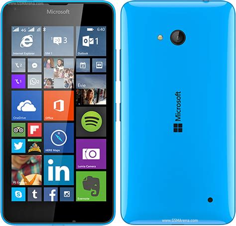 nokia lumia microsoft mobile microsoft lumia 640 lte dual sim pictures official photos