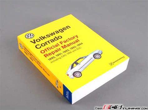 service manual 1994 volkswagen corrado owners repair manual service manual remove maf sensor bentley vc94 vw corrado 90 94 service manual