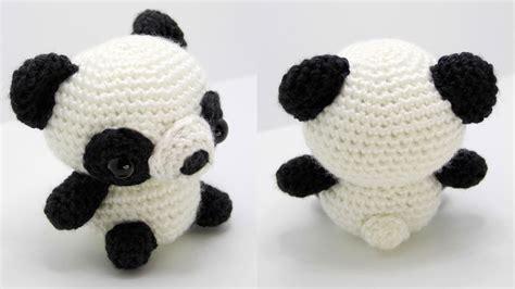 amigurumi panda panda amigurumi crochet tutorial part 1