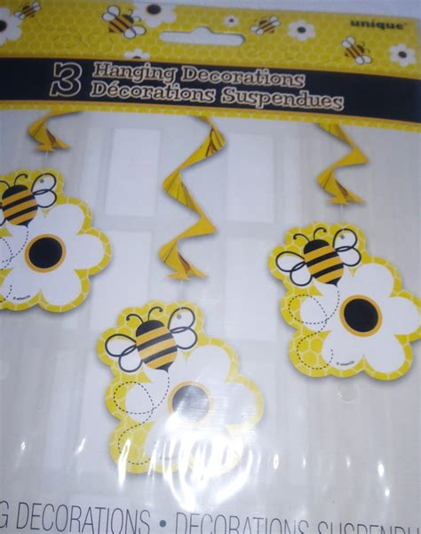 Baby Shower Hanging Decorations by Bumble Bee Hanging Decorations Baby Shower