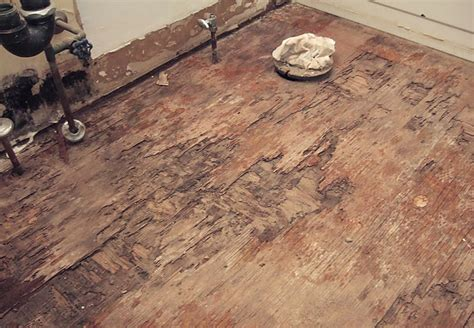 basement bathroom subfloor replacing a soggy rotten bathroom sub floor how to build a house