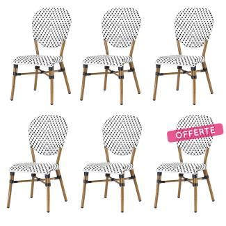 Chaise Bistrot Blanche 915 by Chaise Bistrot Pas Ch 232 Re En Rotin Et R 233 Sine Chaise