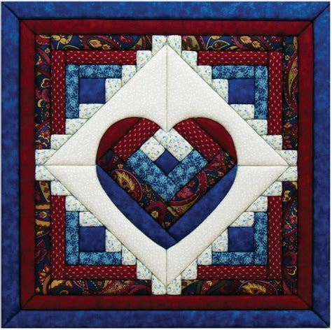 pattern for log cabin heart quilt 1000 images about log cabin quilts on pinterest