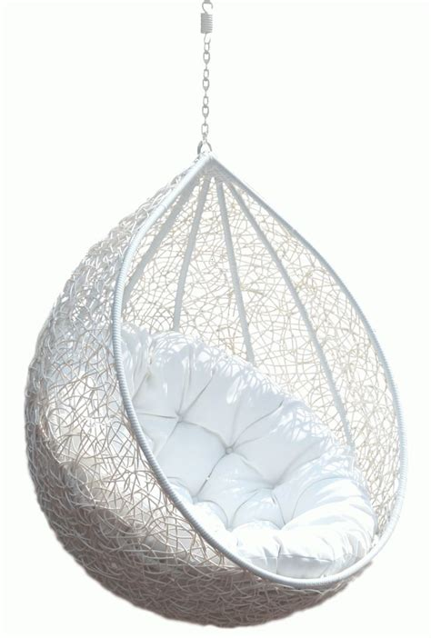 hanging chair rattan egg white  teardrop wicker hanging chair  white puff comfy