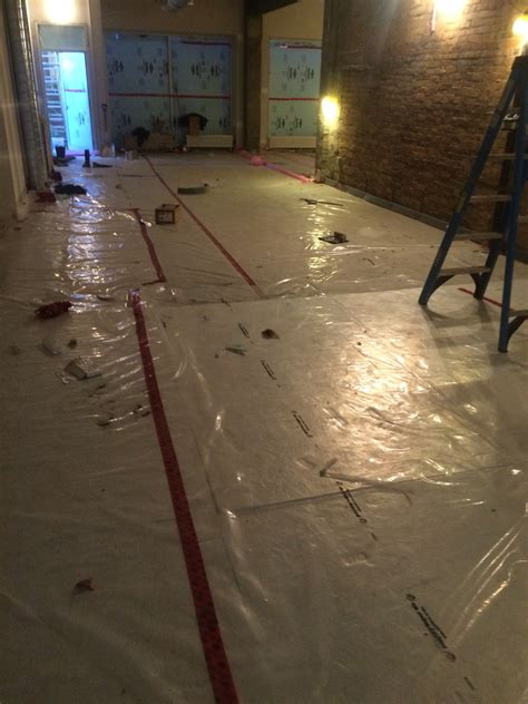 Epoxy Floor Leveler Self Leveling installation of agillia self leveling as finished epoxy