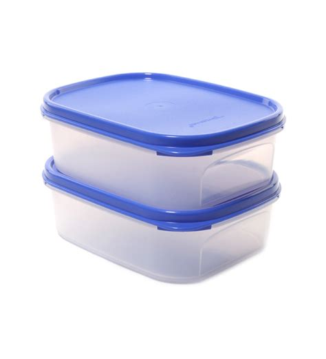 Tupperware Mini Freezermate With Dpt 2 Pcs 1 tupperware mini rectangular white 2 pcs container set 850ml by tupperware airtight