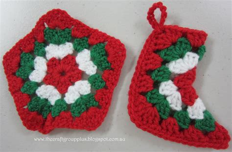 pattern for small crochet christmas stocking quot the craft group quot plus mini christmas crocheted