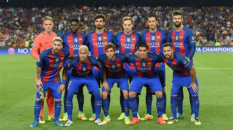 barcelona squad fastest and slowest barcelona players in 2016 17 revealed
