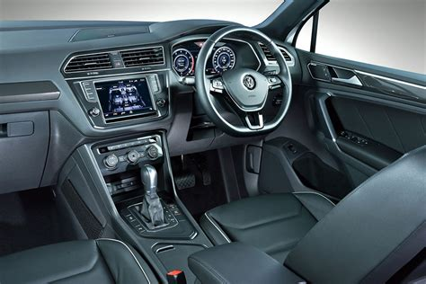 vw tiguan interior vw tiguan with pricing leisure wheels
