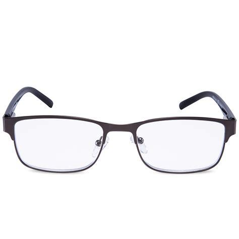 reading glasses readers metal rectangular office work