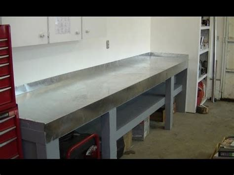 mechanic work bench new metal top work bench for small engine repair youtube