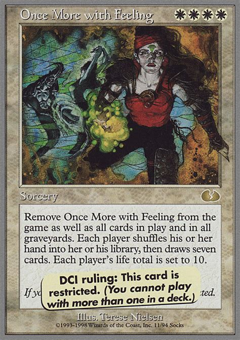 Raising Once More With Feeling by Proxies For Deck Quot Unglued Set Quot Deckstats Net