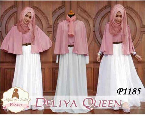 Thalita Salem 5in1 Set Cardiinnercelanapashminabelt baju muslim remaja deliya p1185 untuk lebaran
