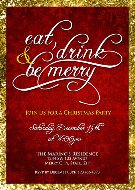 company christmas party invitations theruntime com