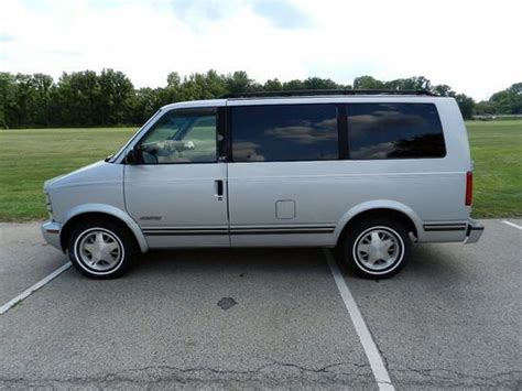 find used 1995 chevrolet astro van clean ready to drive with rear air conditioning in bellbrook