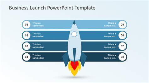 Business Launch Powerpoint Template Slidemodel Powerpoint Template For